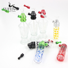 New glass bottle small water pipe bottle, the global hot selling two options, free delivery