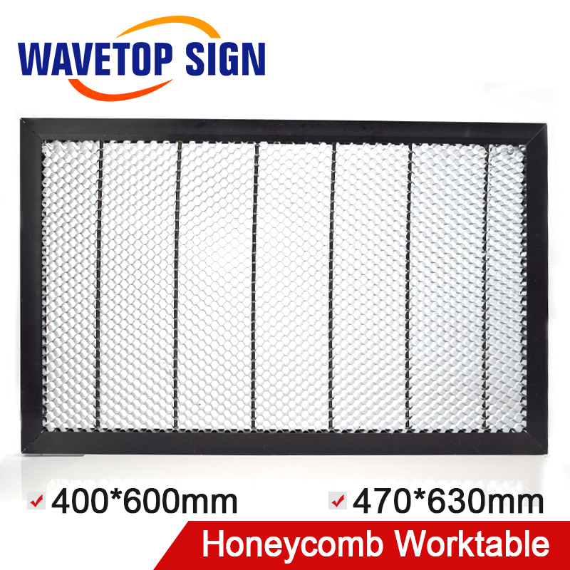 CO2 50W 60W Tube Laser Engraver Cutter Honeycomb Work Bed Table Platform 6040 400mm*600mm 6347 size 630mm* 470mm co2 laser machine laser path size 1200 600mm 1200 800mm