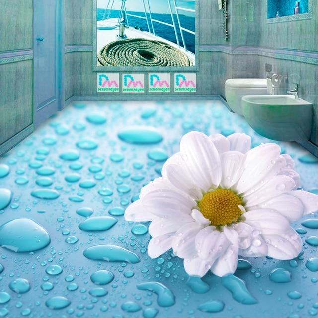 Aliexpress Buy Beibehang 3d Stereoscopic Drops Flower Vinyl