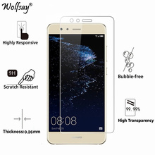 2pcs For Glass Huawei P10 Lite 2017 Tempered Ultrathin Screen Protector Protective Film Wolfsay