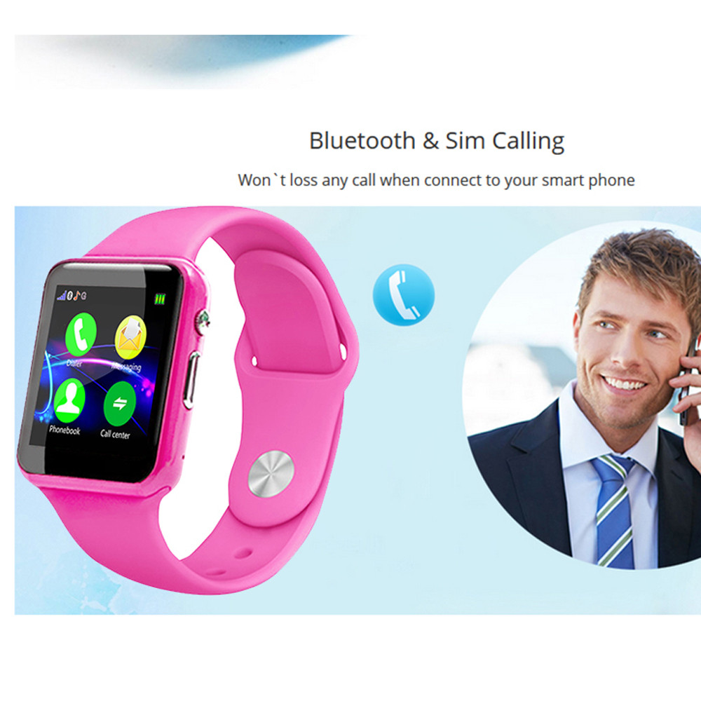 New Fashion Kid Childrens Smart Watch Fitness Tracker Sport Watch Buletooth Sim Calling Remote Camera Alarm Clock Free Shipping A Great Variety Of Models Watches