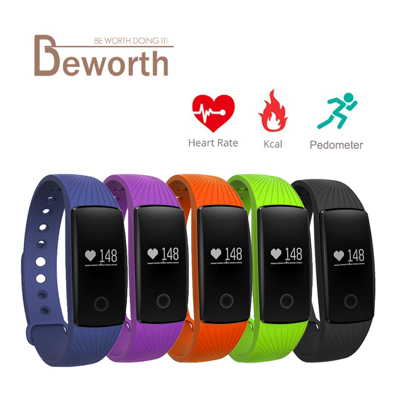 где купить Smart Band Bracelet Bluetooth Heart Rate Monitor Bangle Watch Smartband Fitness Sports Wristband PK ID107 Fitbits Mi Band 2 дешево