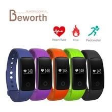 Smart Браслет Bluetooth сердечного ритма Мониторы часы браслет SmartBand Фитнес спортивный браслет PK ID107 fitbits mi Группа 2