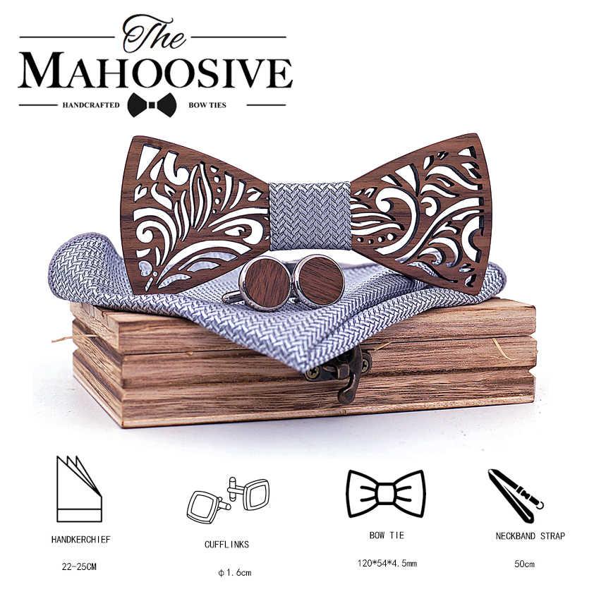 رابطة خشبية ومنديل ربطة عنق ربطة عنق ربطة عنق للرجال هدية للرجال