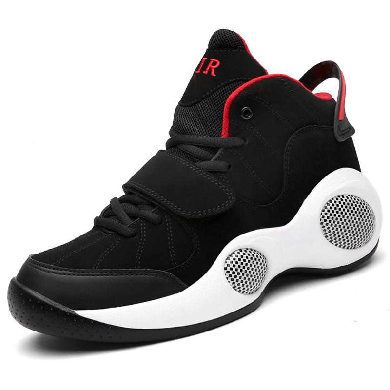 d966f7e53e9c Big Size 39-48 Men Shoes High Top Air Sport Basketball Shoes Breathable  Leather Superstar