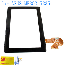 ALANGDUO для ASUS MeMO Pad FHD 10 ME302 ME302KL ME302C 5235 Tablet Сенсорный Экран Digitizer Замена Передней Панели Сенсорный Экран