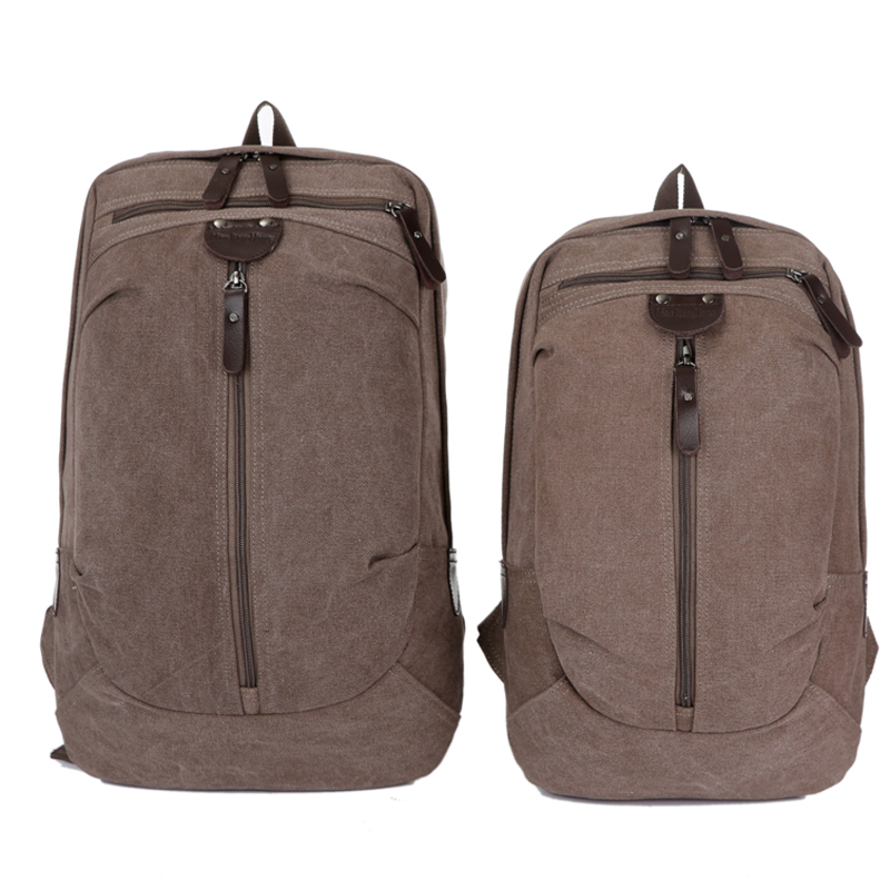 Large Vintage Canvas Travel Backpack Men Women Waterproof Fashion Male Laptop Bag 13 15 inch Casual Female Backpack School 1274 large 14 15 inch notebook backpack men s travel backpack waterproof nylon school bags for teenagers casual shoulder male bag