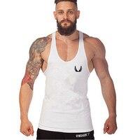 2014 Newest Brand Powerhouse Musculation Bodybuilding Fitness Men Cotton T Shirt Vest Men Gym Tank Tops
