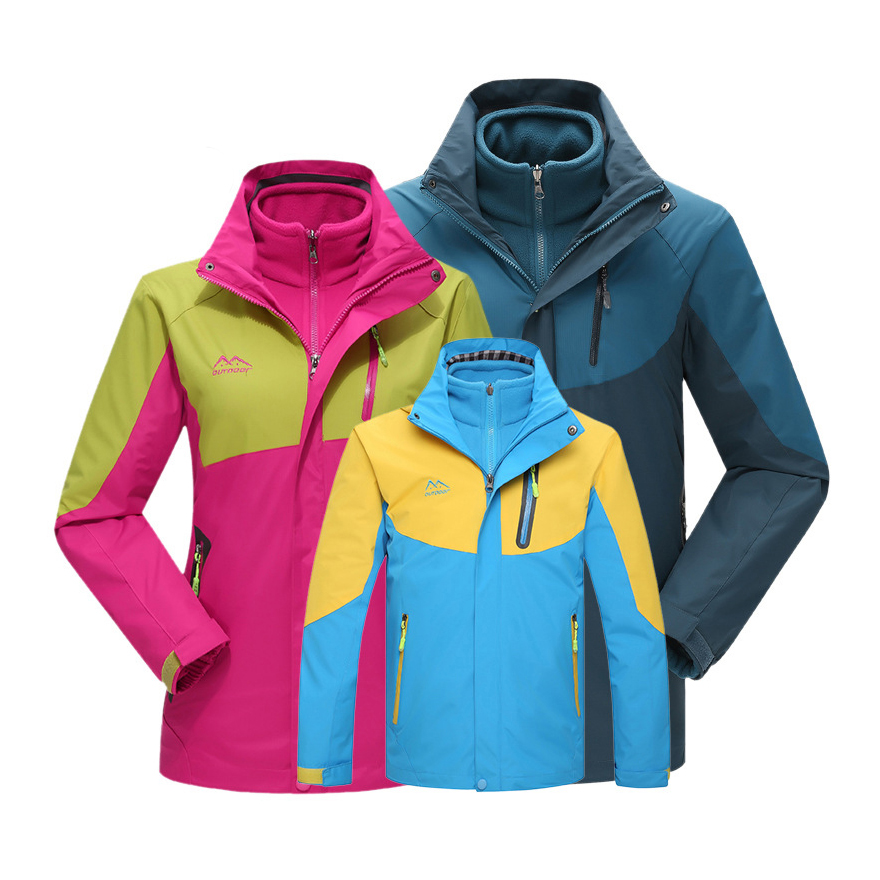 ФОТО Windproof Breathable Outdoor Mountaineering Climbing Skiing Skating Shooting Fishing Cycling Hunting Hiking Jackets For Family