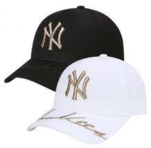 Unisex Nueva York NY sombrero del Snapback y deporte del béisbol del verano ajustable  gorra de béisbol algodón 708dd18a856