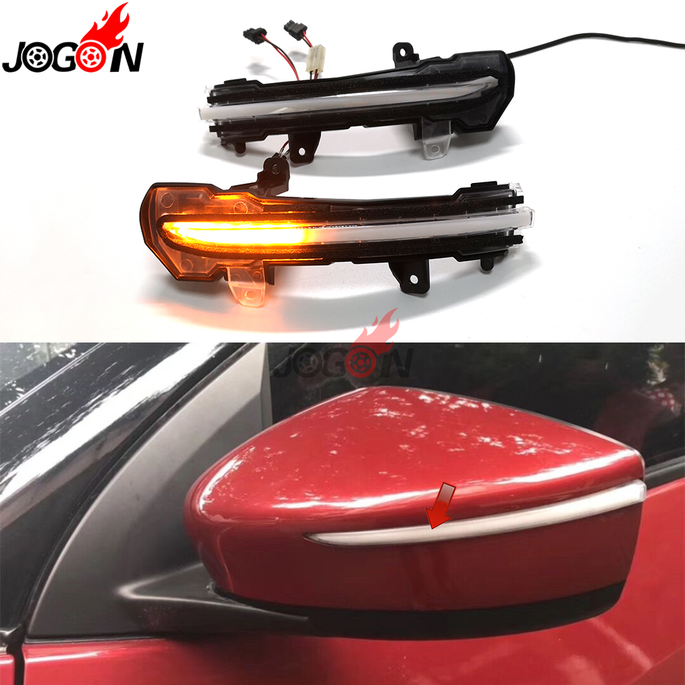 For Nissan Kicks P15 2016 2019 Note E12 2017 19 Car Dynamic Sequential LED Turn Signal