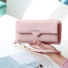 Women Leather Big Capacity Long Wallets (7 colors)