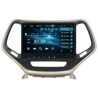 4gb+64gb DSP PX6 6 Core 10.1 Android 9.0 Car Radio GPS Head Unit for Jeep Cherokee 2016 2017 Bluetooth 5.0 WIFI Mirror link