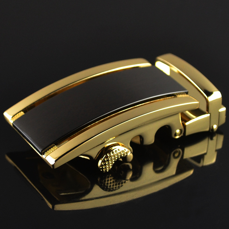 Fashion Men's Business Alloy Automatic Buckle Unique Men Plaque Belt Buckles For 3.5cm Ratchet Men Apparel Accessories LY188102