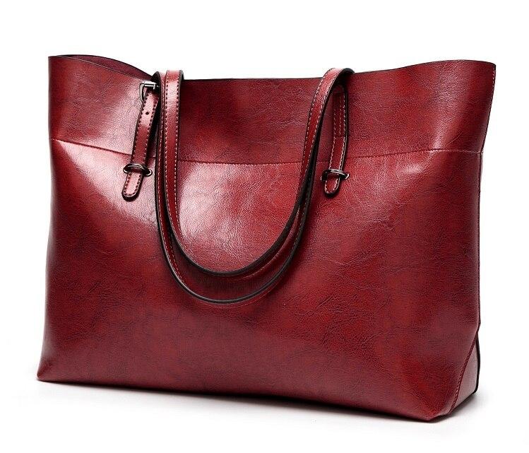qualidade casual bolsas femininas alta capacidade bolsa de ombro senhoras c832