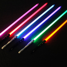 16 Colors Lightsaber Metal Sword Laser Cosplay Boy Gril Toy Luminous Kids Gift Light Outdoor Creative Wars Toys Stick Saber