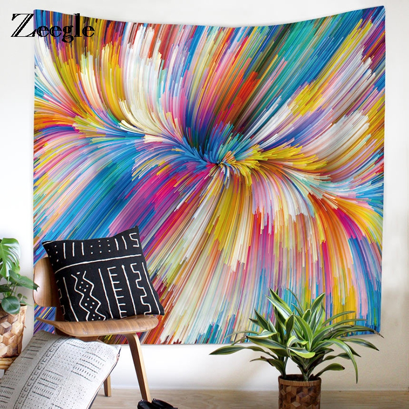 Tapestry Sunny Zeegle World Map Tapestry For Living Room Decor Sofa Chair Cover Fashion 200x150cm Beach Towel Wall Carpet