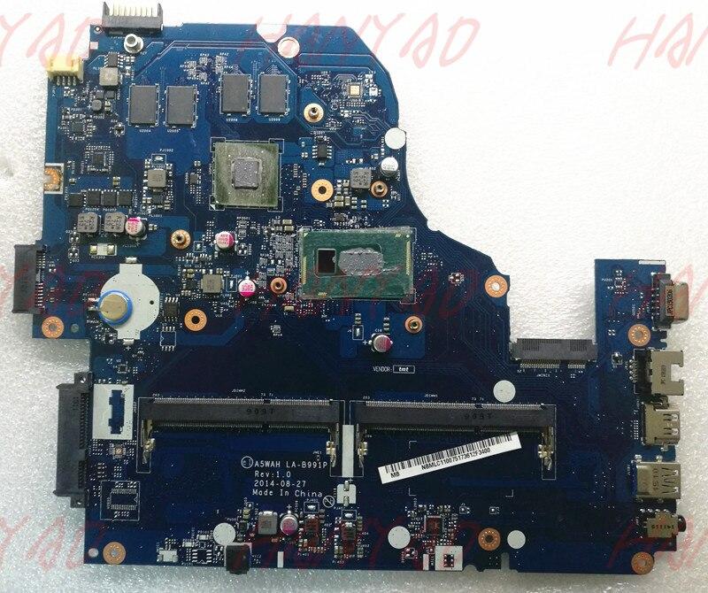 A5WAH LA B991P For font b ACER b font E5 571G Laptop Motherboard NBMLC11007 NB MLC11