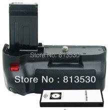 Батарейная ручка 100D+ пульт дистанционного управления для камеры Canon EOS Rebel SL1/100D, LP-E12 LPE12