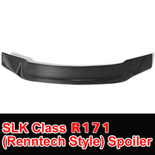 SLK Class R171 Model Carbon Fiber Gloss Black Renntech Style Rear Trunk Spoiler for Mercedes R171 Car Styling 2006 – 2011