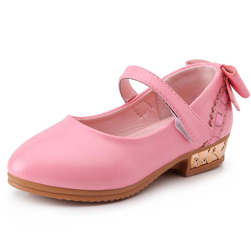 2016 Summer Girls Sandals Fashion Children Princess Dress ...