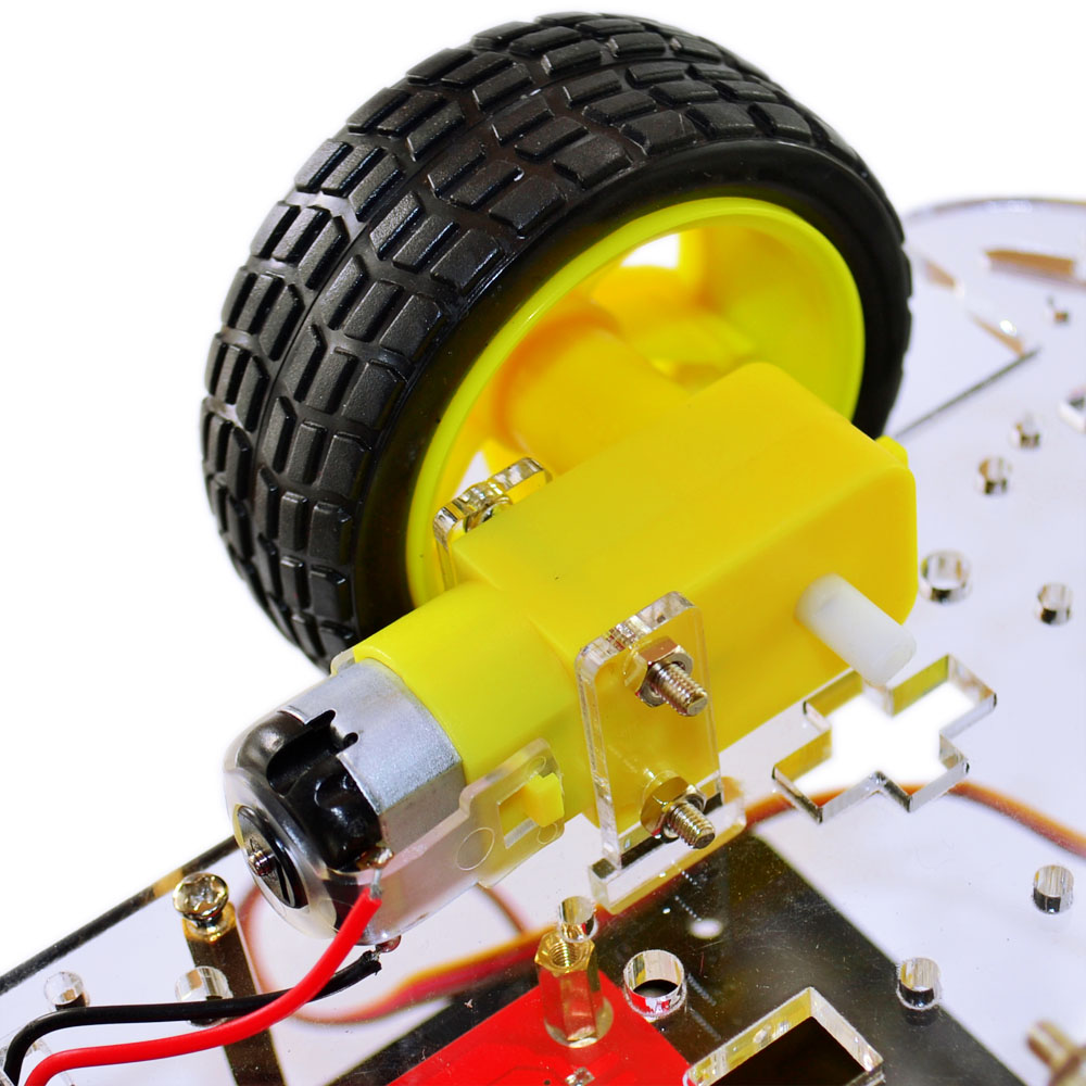 Robot  Car Bot Learning Starter Kit LCD Display Remote Tracing Car for Arduino