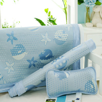 YDBB summer sleeping mat on the bed ice silk sleeping mat for newborn baby you can also get a pillow and arm mat for free