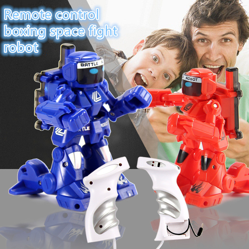 remote control battle robot 2.4G Battle RC Smart Robots electronic model toy rc toys for best gifts Cultivating various ability football cart remote control robot football science model diy scientific experiments for schoolchildren