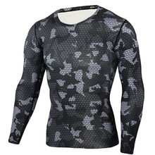 8adaa7d17 (Ship from US) JAYCOSIN 2019 men s black mesh long-sleeved quick-drying  fitness sports tight suit running casual men s shirt sweat