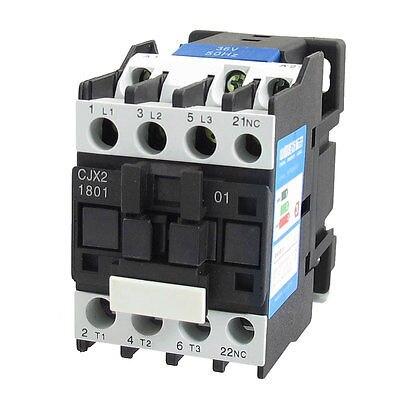 цена на 660V 32A 3 Phase 3P N/C AC Contactor DIN Rail Mount 36V Coil CJX2-1801