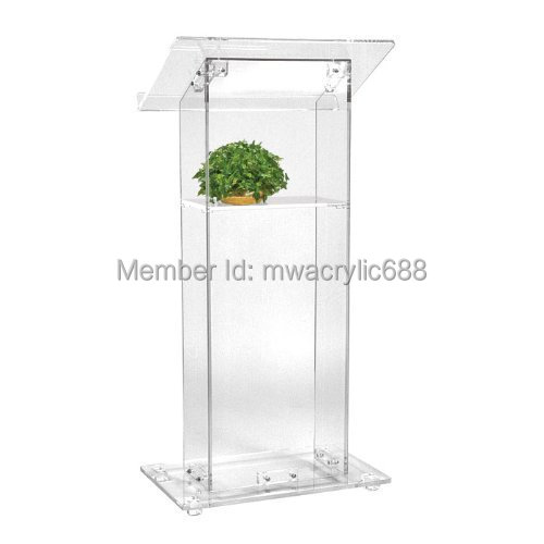 Free Shipping High Sell Cheap Clear Acrylic Lectern acrylic podium|podium lectern|lectern podium|  - title=