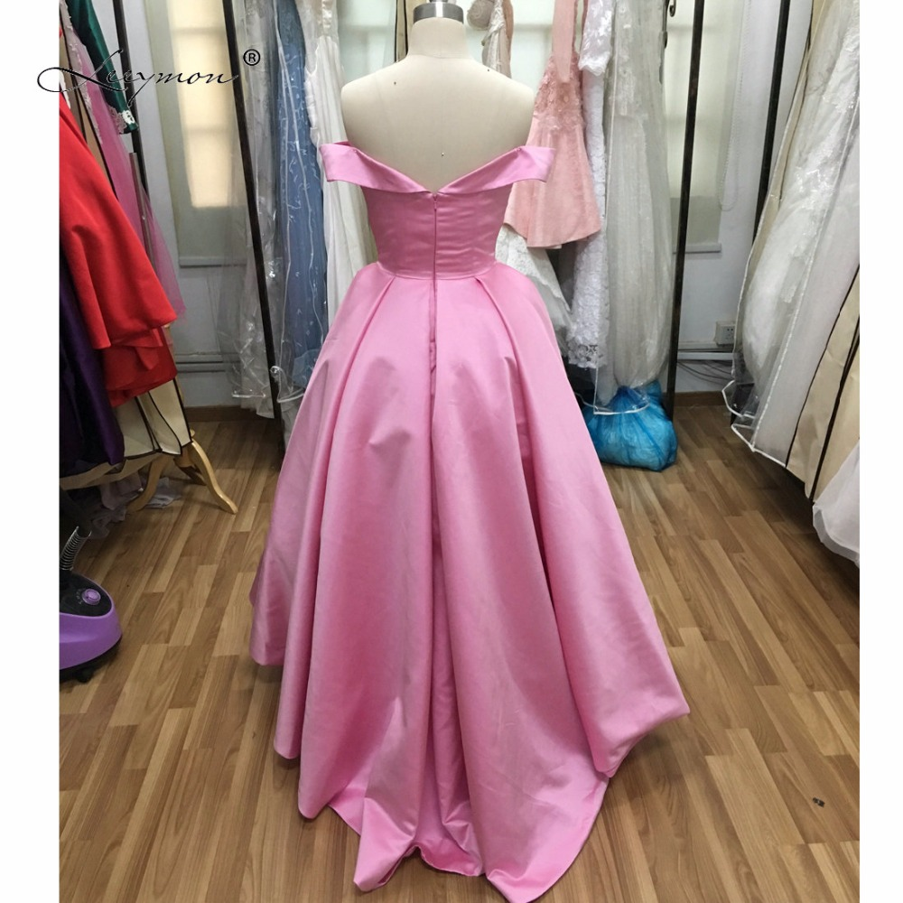 Aliexpress.com : Buy Leeymon Off shoulder High Low Prom Dress Fast ...