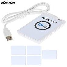 KKmoon ACR122u NFC Đầu Đọc Nhà Văn 13.56 MHz RFID Máy Photocopy Duplicator Thông Minh Không Tiếp Xúc Đầu Đọc Nhà Văn/USB + Bộ 5 UID + SDK