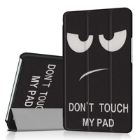 Painted Cover For Huawei MediaPad M3 Case Flip PU Leather Tablet Case For Huawei MediaPad M3