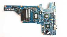 655985-001 DAR18DMB6D1 REV D laptop motherboard for hp pavilion G4 G6 G7 mainboard core i3-370M CPU GeForce GT520M 100% tested