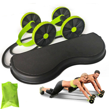Ab Roller Wheel Workout