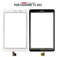 Freies Verschiffen Für Huawei Mediapad T1 8 0 Pro 4G T1 821L T1 821 T1 823L T1 823W Touchscreen Digitizer Glas Ersatz-in Tablett-LCDs und -Paneele aus Computer und Büro bei