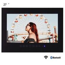 Souria 27 дюймов черный Водонепроницаемый светодиодный телевизор для ванной комнаты Full HD 1080 P Android Smart tv