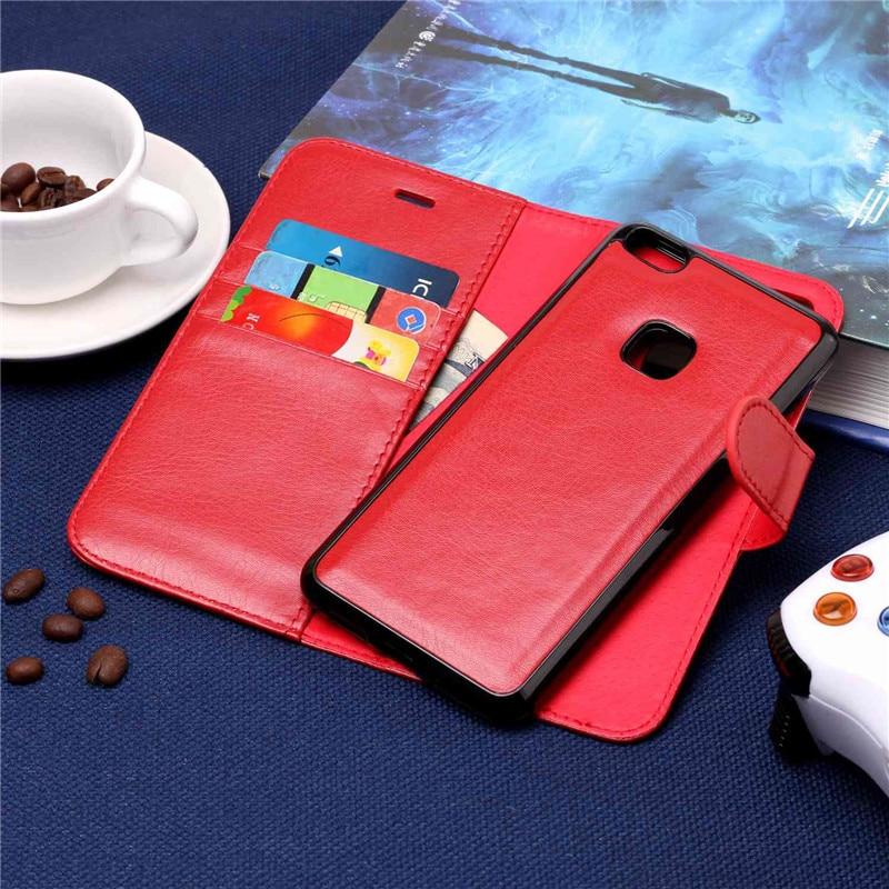 Yinghui для Huawei P10 Lite красочные картины 2 в 1 съемный магнитный Бумажник кожаный чехол для телефона мягкий флип обратно мешок крышка 5.2