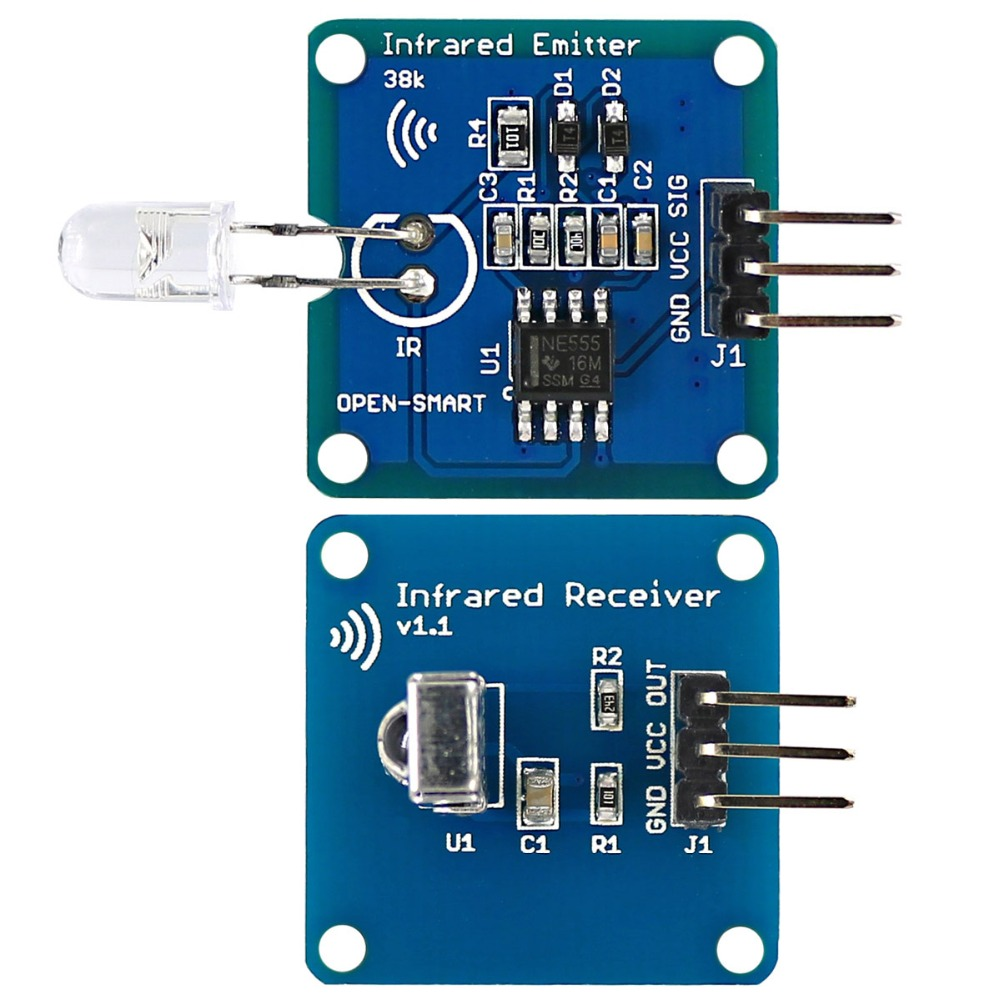 Trasmettitore Infrarossi 4 canali IR Modulo Arduino Compatbile