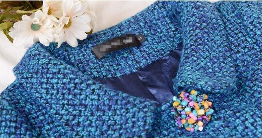 As Original 3xl Picture Colorido Chaqueta 3d Cuello Mujeres Otoño Floral Abrigo De S Las Botón Breasted Lana Solo Invierno 2019 E qExdwREfH