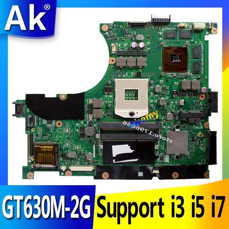 Akemy N56VJ/N56VM Laptop motherboard for ASUS N56VM N56VZ N56VJ N56V Test original mainboard GT630M/GT635M-2G  Support i3 i5 i7Akemy N56VJ/N56VM Laptop motherboard for ASUS N56VM N56VZ N56VJ N56V Test original mainboard GT630M/GT635M-2G  Support i3 i5 i7