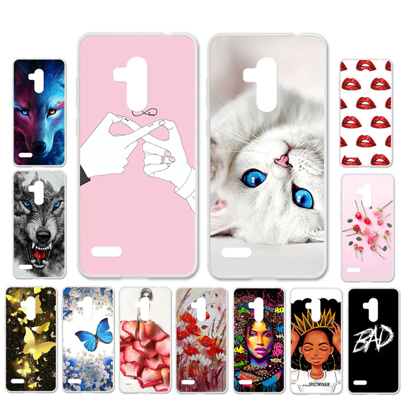 Ojeleye DIY Patterned Silicon Case For Leagoo T8s Case Soft TPU Cartoon Phone Cover For Leagoo T8s Covers Bags Anti-knock Shell
