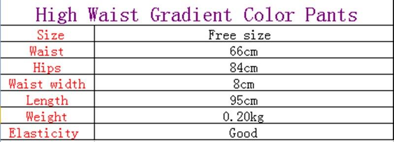 Gradient Women Yoga Pants 3D Print Fitness Leggings Jogging Capris - Ropa deportiva y accesorios - foto 6