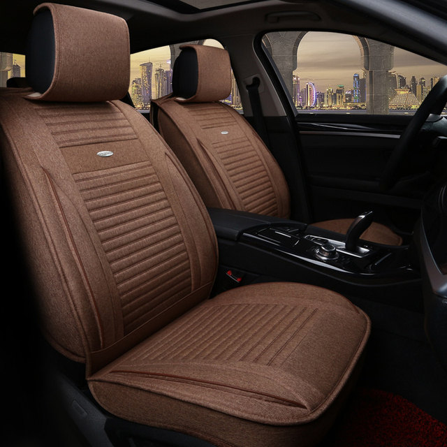 Car Seat Cover Auto Seats Covers Cushion Accessorie For Ford New Fiesta Mk7 Sedan Edge Everest