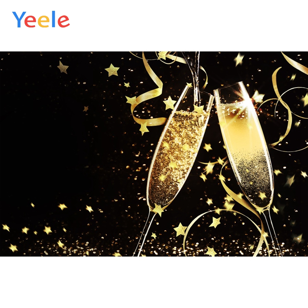 Yeele Party Glitter Backdrop Wedding Birthday Cheer Photography Personalized Photographic Background For Photo Studio