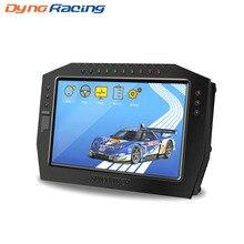 DO909 Dash Yarış Ekran Tam Sensör Kiti Renkli LCD Dokunmatik Ekran Evrensel Yarış Kontrol Paneli Araba Metre