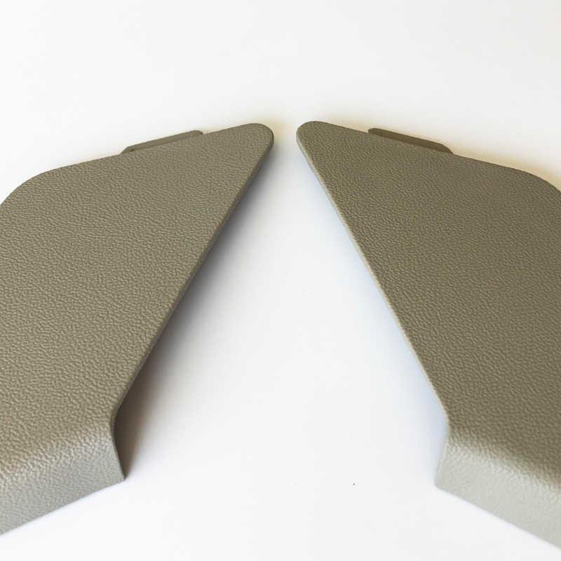 2ชิ้นไฟฟ้าปรับเข็มขัดนิรภัยด้านหน้าด้านสมอปกตัดหมวกสีเทาอ่อนสำหรับA6 4F0051510 882 327 C/328 C 8E0882327A/328A J50