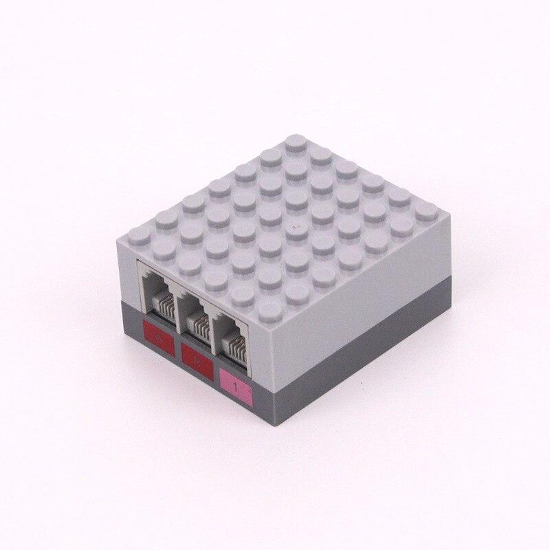 Programmation hôte bloc de construction robot intelligent programmation enseignement Compatible avec les blocs de construction électroniques FBR-5A