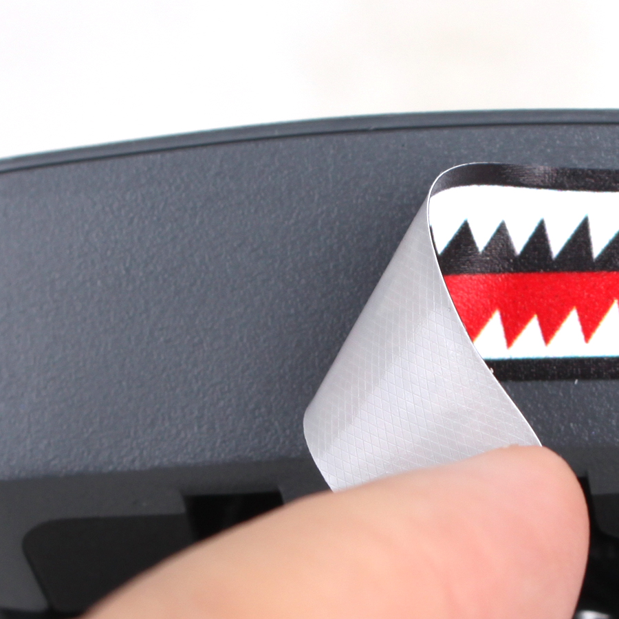 Stickers Shark Face Decals Skin DIY Accessory for DJI Mavic Pro T/_vi